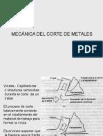 Mecánica Del Corte de Metales