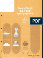 GE Lighting Systems Price Book - Indoor Designers Guide 11-77 - 4-78