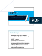 Chapter 1 - Project Mgt. Concepts