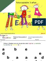 Cuadernillo 40 Actividades Eduación Preescolar 3 Años