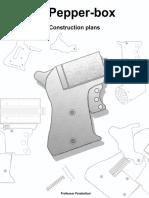 .22 Pepperbox revolver - homemade gun plans (Professor Parabellum)