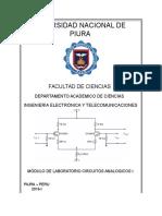 Circuitos Analogicos i (Caratula)