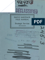 CIA Simple Sabotage Manual
