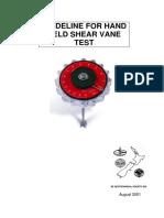 VaneShear Guideline