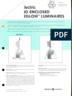 GE Lighting Systems Aisleglow Series Spec Sheet 1-81