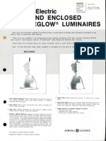 GE Lighting Systems Aisleglow Series Spec Sheet 12-82