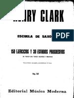 150 EJERCICIOS Y 30 ESTUDIOS PROGRESIVOS-HENRY CLARK-MÉTODO.pdf