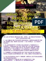 Unidad Xi Módulo 6 Panorama Histórico Del Romanticiasmo