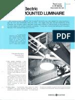 GE Lighting Systems Crane Mounted Luminaire Series Spec Sheet 8-77