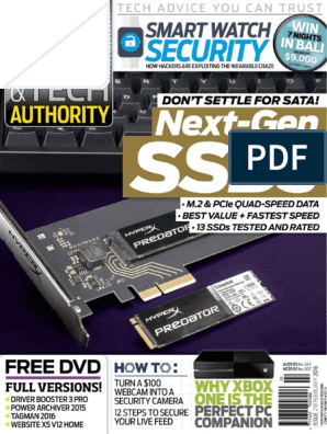 PC & Tech Authority 2016-02 | Tablet Computer | Personal