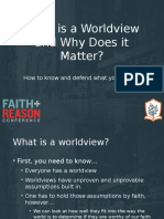 Solid Reasons - Worldview