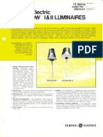 GE Lighting Systems Decaglow I & II Series Spec Sheet 12-76