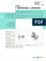 GE Lighting Systems Duraglow Recessed Series Spec Sheet 6-76