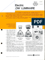 GE Lighting Systems Duraglow Series Spec Sheet 5-81