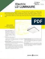 GE Lighting Systems Fairfield Series Spec Sheet 12-74