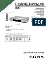 SONY-VHS-SLV-610-710
