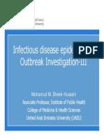 12- Infection Disease Epidemiology