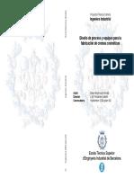Chemical Organic - Diseño de Proceso y equipos para la fabricación de cremas cosméticas (ESPINOSA David).pdf