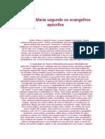 A Outra Maria Segundo Os Evangelhos Apocrifos-Comentário.doc