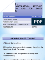 Biovail Corp ( Group 2)