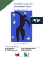 """""""Matisse et le livre illustré"""" exposition estivale 2010 au Scriptorial d'Avranches (50)"""