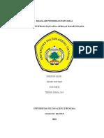 Makalah Pendidikan Pancasila Sebagai Dasar Negara (Ridho Suryadi Teknik Kimia 2015)