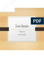 Texto Literario V