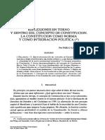 Concepto de Constitucion Pablo Lucas Verdu