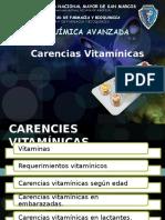 Carencias Vitamínicas