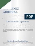 CONVENIO ARBITRAL