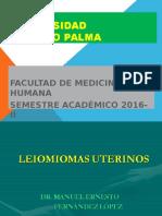 Clase 2 Leiomioma, 2016