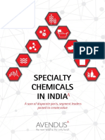 Avendus Specialty Chemicals Report
