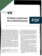 Enfoque Conductual de la administración