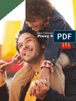 Proxy Statement of McDonald's