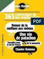 365 Expressions de Nos Grands-meres - L'Opportun