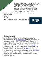 Epidemiologia .Avamces Epi