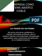 1.-La Empresa Como Sistema Abierto Viable