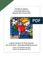 Livrinho G.O. 2012 - Residência UFG