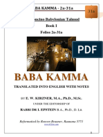31a - Baba Kamma - 2a-31a