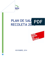 Plan Salud Recoleta 2015