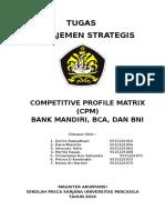 CPM Bank Mandiri -Kelompok I-Manajemen Strategik