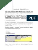 Funcionalidades de Acessibilidade Do Sistema Operativo Wxp