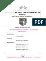 Informe de Planificacion