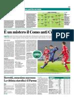 La Provincia Di Como 20-11-2016 - Calcio Lega Pro