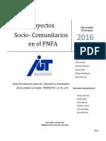 Guía Inducción de Proyecto Junio 2016. 2da Revision