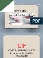 Diapositivas Comercio Internacional Cif y Cpt