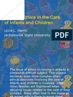 nursing ethics in the care of infants and