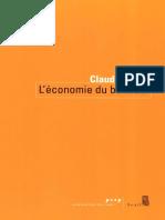 [Claudia Senik] L'Économie Du Bonheur