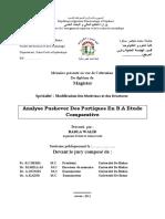 Analyse Pushover Des Portiques en b.a Etude Comparative