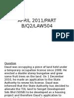 LAND 1 assignment.pptx